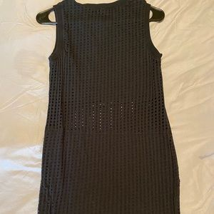 Fabletics black sleeveless dress